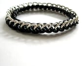 Stretchy Chainmail Bracelet Half Persian Gothic