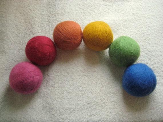 YOU Choose - 6 Wool Dryer Balls