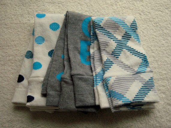 You Choose -- Set of THREE Pairs of Baby Leggings