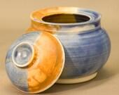 Ceramic Jar - Porcelain Lidded Container