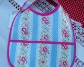 Baby Bib in Cath Kidston Oilcloth age from 6 months