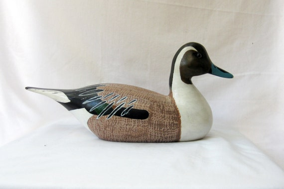Pintail Wooden Duck Decoy