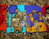 DR SEUSS Hop on Pop - 5 inch letters, private listing PAPA