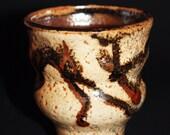Shino and Tenmoku Yunomi Teacup Coffe Cup Mug
