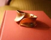 Vintage Clamper Bracelet Gold Tone