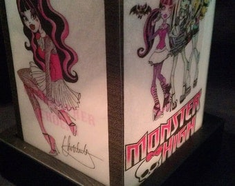 Monster High Luminary Lamp Night Light