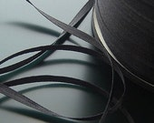 length 10m width:3mm Black Thin Gauze Fabric Lace Ribbons Accessories 7098a02i2