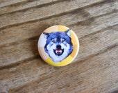 Courage Wolf - Meme - 1'' Pinback Button