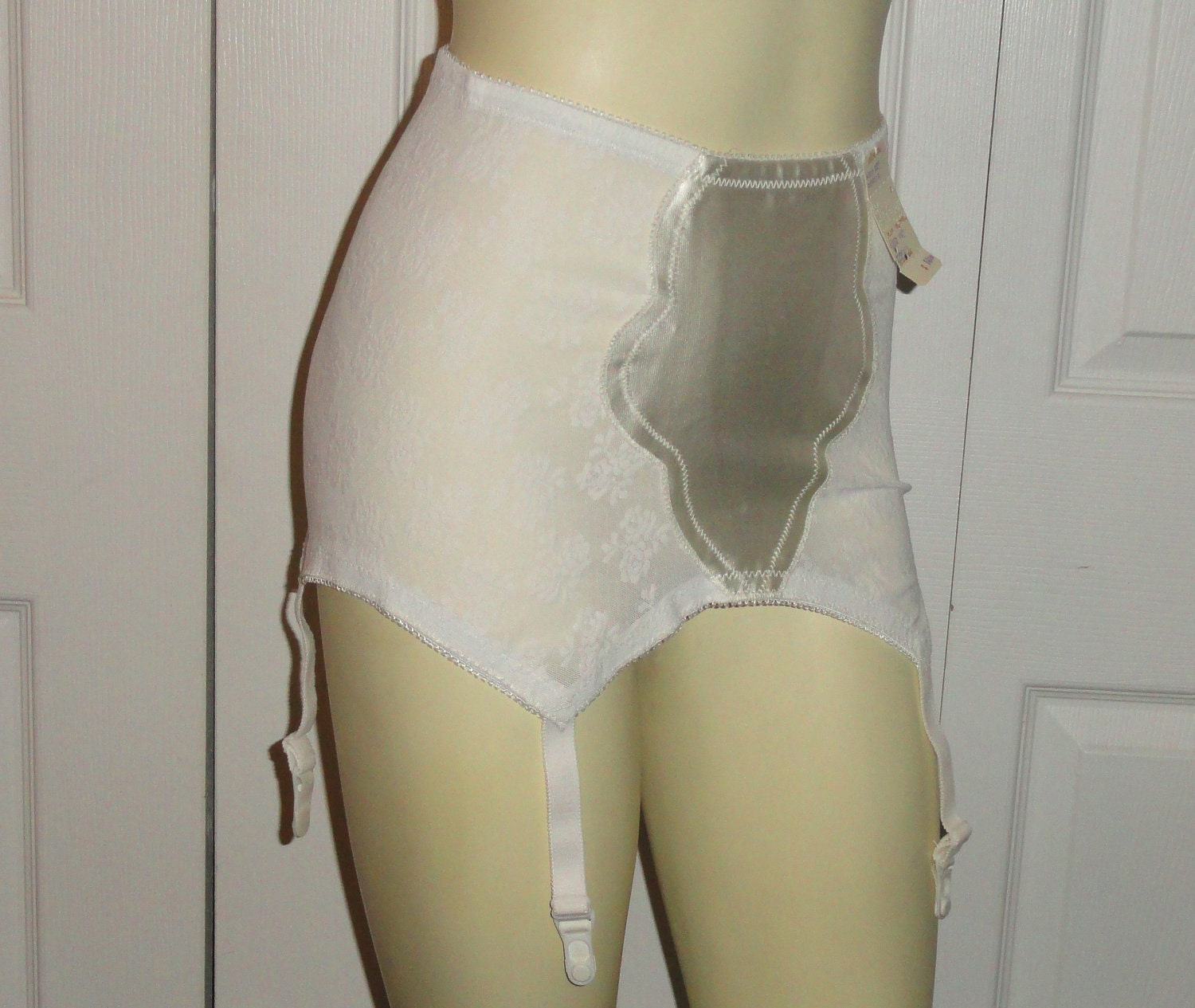 CLOTHING SALE Vintage Girdle Garter Belt By