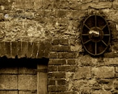 Old Industrial Building Sepia Ireland Limited Edition