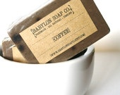 Coffee Soap . Exfoliating Soap . All Natural Soap . Handmade Soap . Unscented Soap . Vegan Friendly Soap