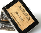 Earl Grey Tea Soap . Exfoliating Soap . All Natural Soap . Handmade Soap . Unscented Soap . Vegan Friendly Soap