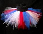 July 4th Red White and Blue Tutu (Sizes Child 7 - Adult Large)