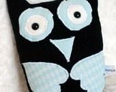 Bengt owl softie plush anmial in fleece