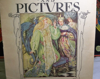 1935 Anne Anderson's Fairy Tales and Pictures Whitman fantastic color illustrations 10 color plates
