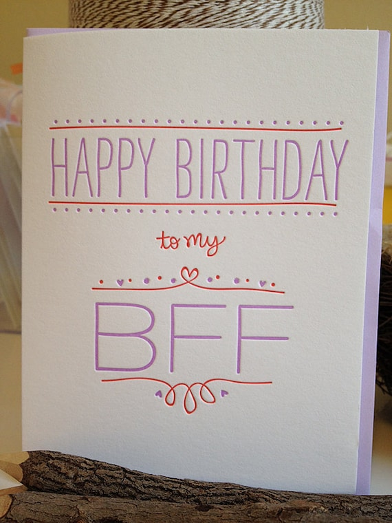 Sayings In Birthday Cards For Best Friend : Unavailable listing on etsy