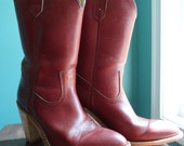 Sale 20% OFF Vintage Frye Cowgirl Boots Mint Condition Size 7.5