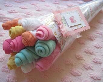 Baby Washcloth Bouquet Girl Boy or Neutral