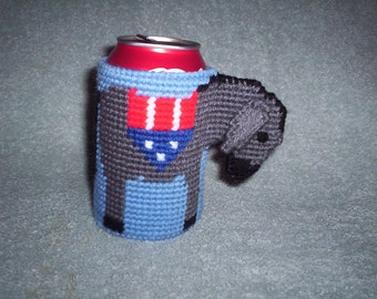 Democratic can holder