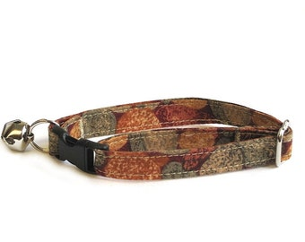 Red Rocks Adjustable Cat Collar