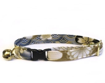 On Golden Pond Adjustable Cat Collar