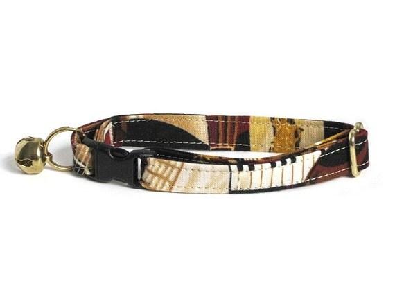 Sound of Music Adjustable Cat Collar
