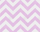 Lilac and White Chevron and Gray Minky Boppy Cover