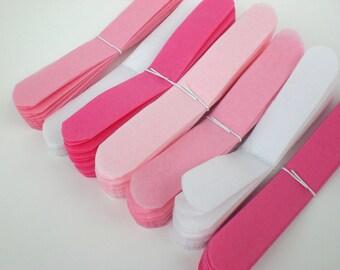 Baby Shower Decorations ...12 Medium Tissue Paper Flowers..Pretty in Pink