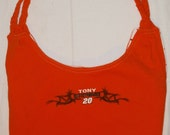 Tony Stewart Repurposed T-Shirt Bag