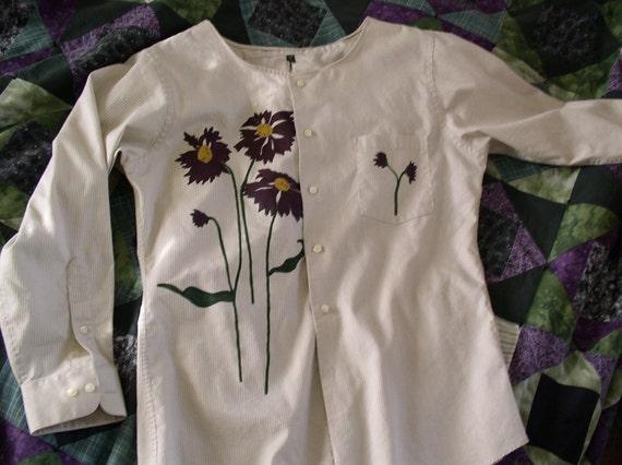 women plus size wearable art shirt