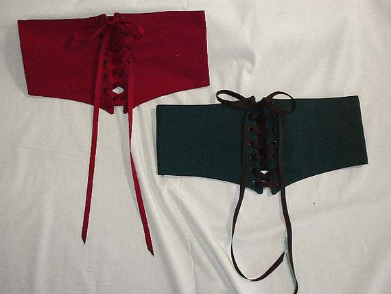 Handmade Sexy Renaissance Wench's Waist Cincher. Made in Your Size and Color for SCA, Larp, Ren Faire