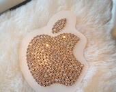 Swarovski MAC Apple Sticker - Vintage Rose