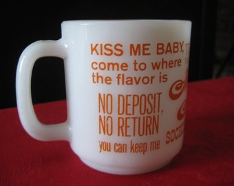 Vintage Seventies Quote Love Mug