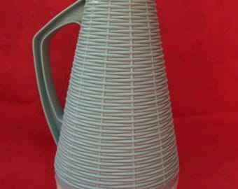 Vintage Basket Weave pitcher
