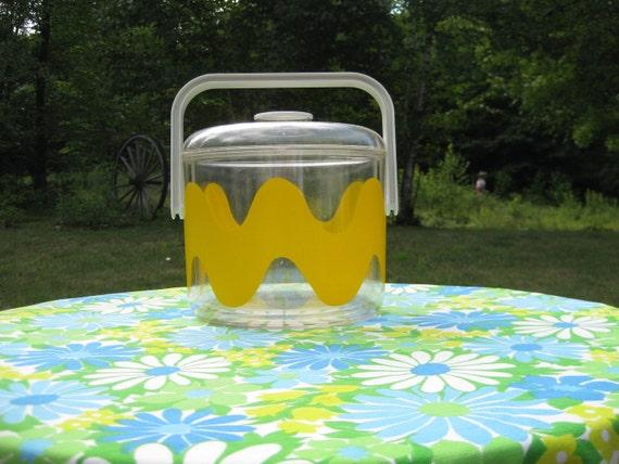Vintage Marimekko Oy Ingrid Ice Bucket