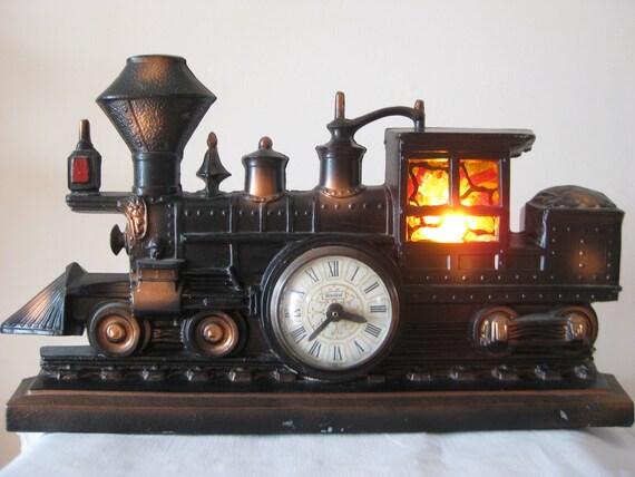 Vintage United Train Clock