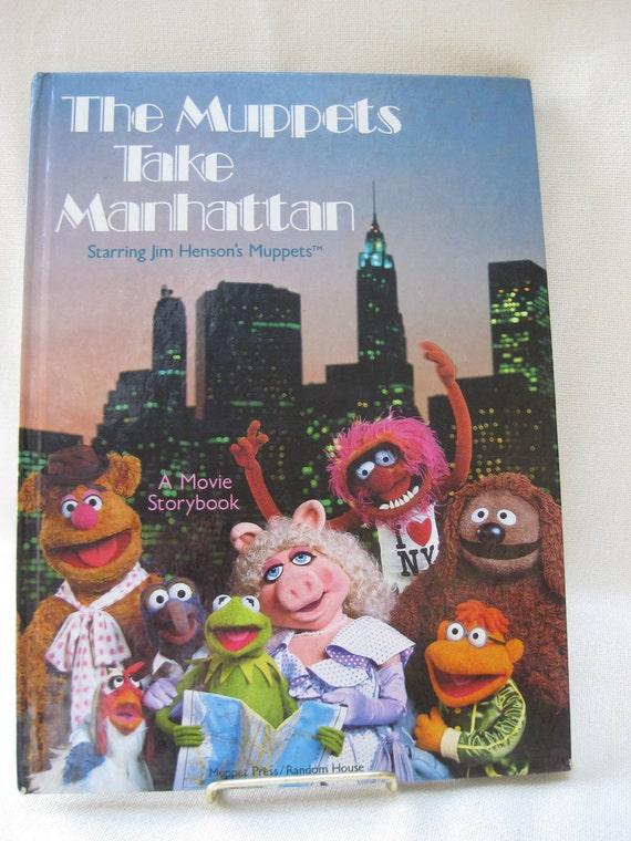 Vintage Muppets Take Manhattan Movie Book By VintageByThePound