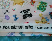 Muffy VanderBear fabric for Michael Miller 29 inches of her signature fabric