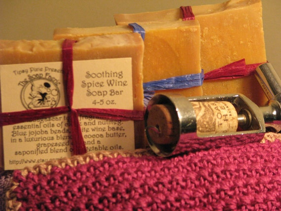 Soothing Spiced Wine Soap