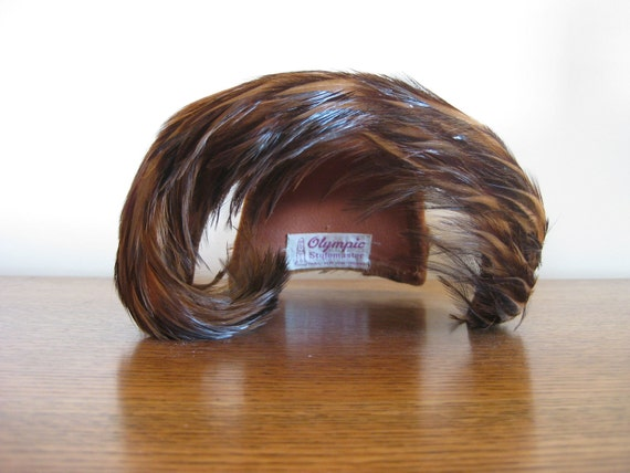 Pheasant // Vintage Olympic Feather Hat