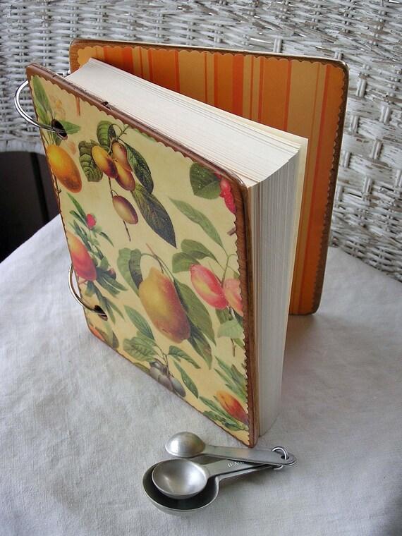 Fruit Art wooden book