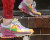Sneaker Chick (Vintage MultiColor Nike Air Max Size 7)