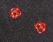 Hyacinth Swarovski Crystal Rhinestone Stud Earrings