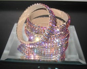 Swarovski Crystal Bangle Bracelets Crystal AB