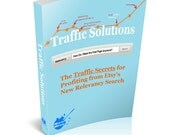 Etsy SEO Traffic Solutions: the Number One (1) Guide for Hacking Etsy's Relevancy Search from New Blue Marketing