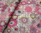 2015B  - 1 meter Cotton fabric  - Daisy (pink)