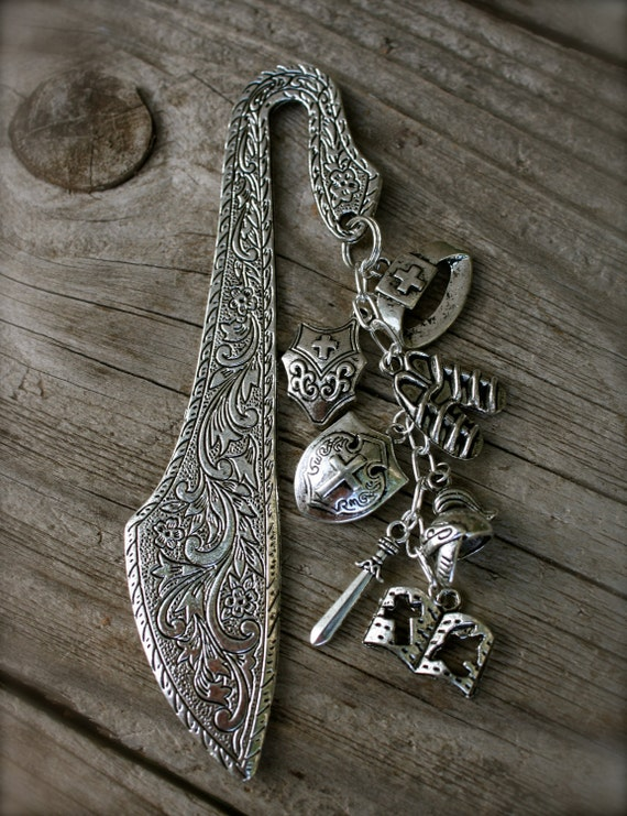 Handmade ARMOR OF GOD Christian Bookmark, by Okrrah