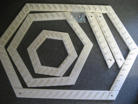Hexagon Love And Money Lapweaving Looms By John Alan With