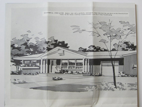 Reserved Mid Century Modern Ranch House Plan