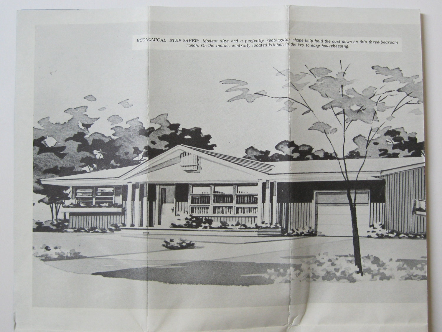 Reserved mid century modern ranch house plan for Mid century ranch home plans